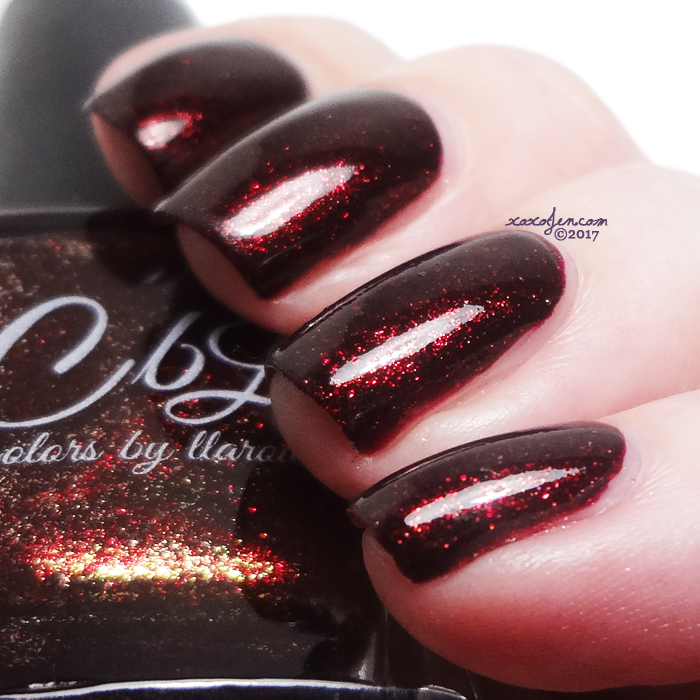 xoxoJen's swatch of CBL Flame Ascending