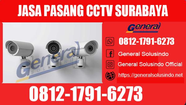 Jasa Pasang CCTV Mulyorejo Surabaya