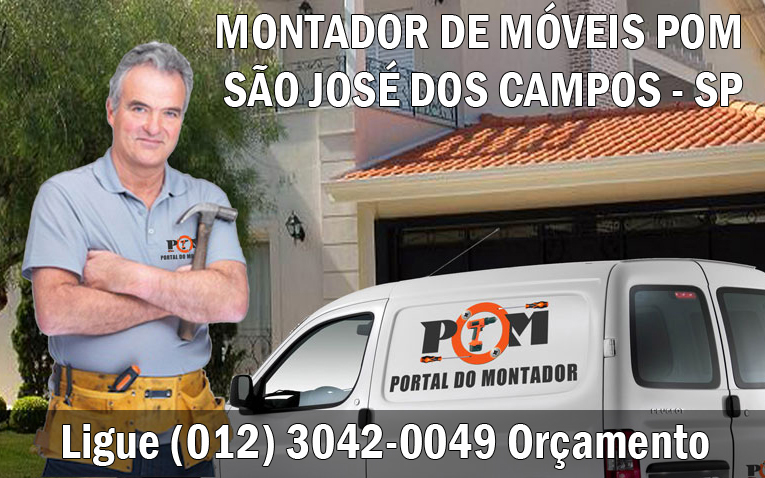 Montagem de Móveis São José dos Campos SP (012) 3042-0049