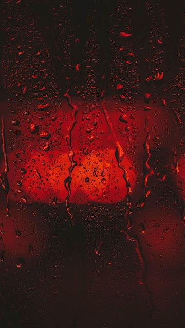 HD Wallpaper Glass, Water Drops, Liquid, Macro
