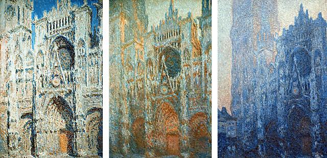 peinture cathedrale de rouen