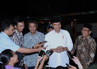 Presiden Joko Widodo : Saya Tidak Pernah Mengeluarkan  Izin Reklamasi