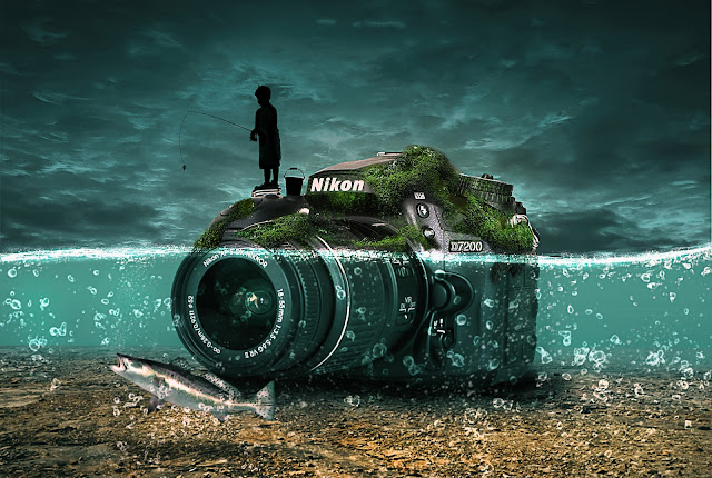 foto bawah air