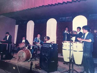 Victor Lezana, Carlos Arturo Lezana, Erick Escobar, Otto Olivares, ensamble latino, la maxima expresion de la salsa, historia, capsula del recuerdo, aqui estas otra vez, radio fiesta, tropicalida, guatemala, amatitlan,