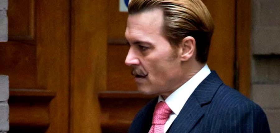 Johnny Depp în filmul Mordecai