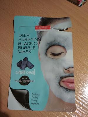 Recenzja - Purederm maska bąblująca w płachcie Deep purifying bubble mask