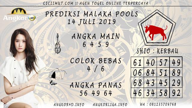 PREDIKSI MALAKA POOLS 14 JULI 2019