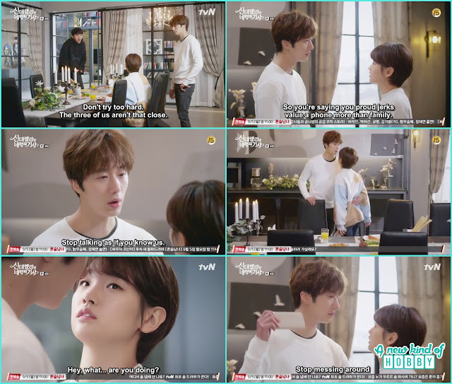 ji woon to ha won stop messing around  - Cinderella and Four Knights - Episode 4 Review