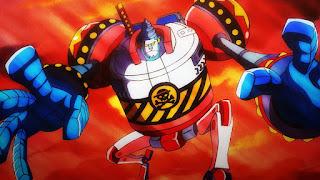 ワンピースアニメ 989話 | フランキー将軍 |  Iron Pirate GENERAL FRANKY