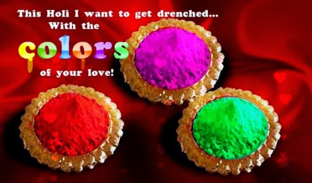 Happy Holi 2017 SMS Greetings Collection for Him Her