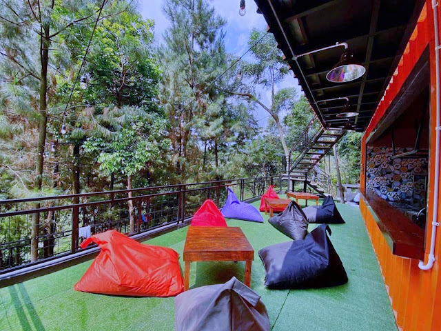 Menu di Bukit Nurmala Cafe Bogor