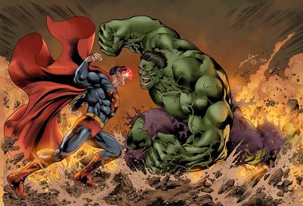 Quien gana el combate, hUlk o Superman