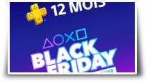 L'abonnement PlaySTation Plus 12 mois en promo pour le Black Friday