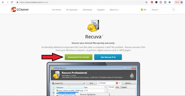 Deleted Data Recovery, data recover kaise kare, recuva, online data recover