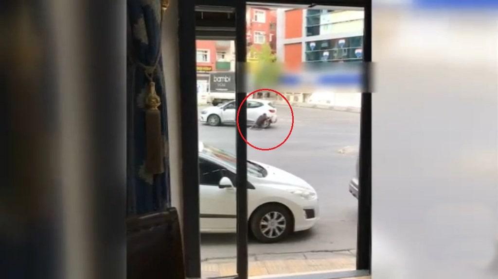 Sarıgazide cadde ortasında çatıştılar!