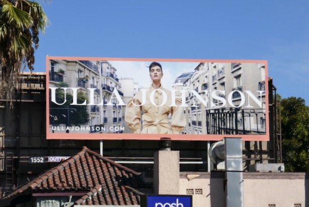 Ulla Johnson FW19 billboard