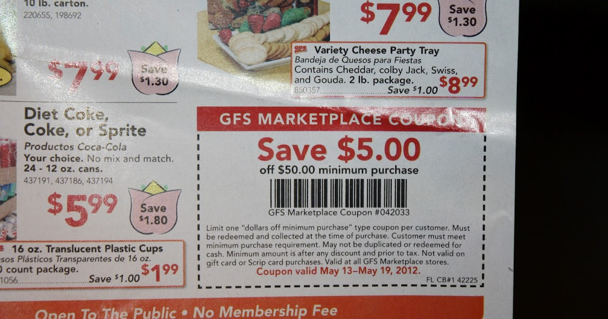 graphic about Gfs Coupons Printable titled Gfs $5 coupon 2018 - Sushi specials san diego