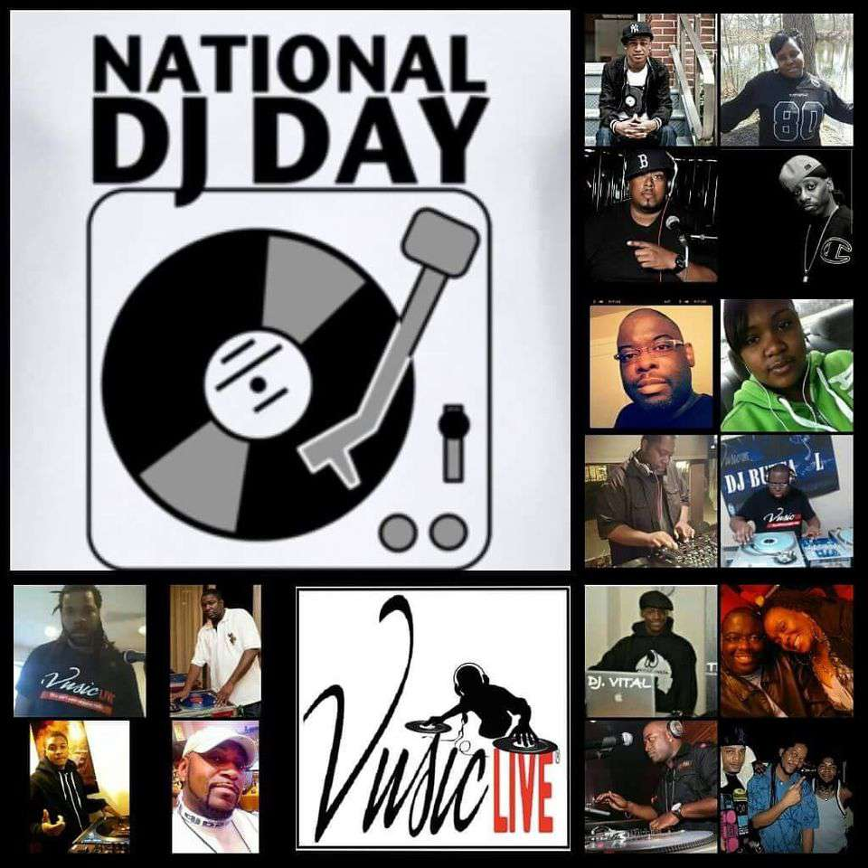 National DJ Day Wishes Beautiful Image