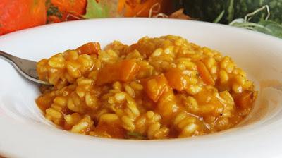 Rižot od pečene bundeve / Pumpkin Risotto