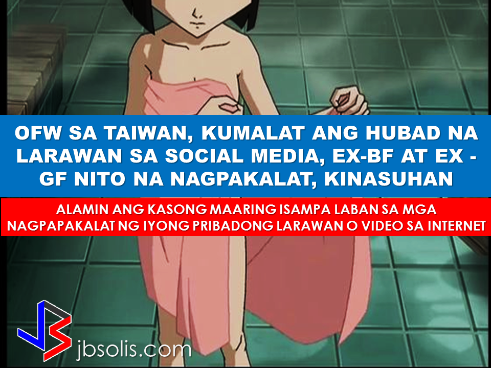 "An OFW in Taiwan has been placed in huge shame as her nude photos surfaced and spread on the social media site. The suspect-- her ex-boyfriend's ex-girlfriend. In an interview with Raffy Tulfo, Christine Casipit, an OFW in Taiwan was crying as she narrated  the terrible experience she had when her supposed to be private photos has been made public by her boyfriend's former girlfriend. Kristopher de Ocampo said that  his facebook account was hacked by his ex-girlfriend without his knowledge and that she was the only person responsible for spreading the photos in the social media site. However, Col. Jay Guillermo of the PNP Anti-Cybercrime  Group said that depending on the evidence that would be presented  to his office and since the suspect has a relationship with the victim, her ex-boyfriend could face  charges in violation of R.A 9262 or violence against women. The ex-girlfriend who uploaded and spreaded the private photos of Christine  would be charged with violation of RA 9995 or the Anti-Photo and Video Voyeurism Act Of 2009.    The penalties for any person found guilty of violating any of the prohibitions enumerated under Section 4 of R.A. 9995 range from an imprisonment of 3 to 7 years and a fine of P100,000.00 up to P500,000.00 at the discretion of the court. Additional penalties are meted for the following violators: juridical persons, public officers or employees, and aliens.  Juridical Persons such as Corporations and Partnerships who violate this law will have their licenses or franchises automatically revoked and their officers held liable, including the editor and reporter in the case of print media, and the station manager, editor, and broadcaster in the case of broadcast media. Public officers or employees who violate this law shall also be held administratively liable, whereas aliens who violate the law shall be subject to deportation proceedings after they serve their sentence and pay the fines imposed. After learning the cases that he could be facing as an accessory of the crime because he let his ex-girlfriend access the private photos of the OFW, the ex-boyfriend cries as he begged that Christine should give him more time to make things right but Christine, determined to file cases, went straight to camp crame to file charges to both of them. {INSERT ANOTHER 5 IMAGES OR VIDEO HERE} RECOMMENDED POSTS:  The Saudi government  implemented the NITAQAT system which aims to reduce the number of unemployment among Saudi citizens due to hiring of expat workers with a great margin of cost to the saudi companies and firms. This coming September, the saudi government will further tighten the hiring of foreign workers to reduce local unemployment rate from the current 12% to the target 9%.  2017 Top 10 IDEAS for OFWs to Invest Before an OFW can return to the Philippines for good, a lot of considerations should be made, one of which is that ""If I decided to go home for good, will I be able to sustain my family's financial needs?"" Financial stability is one of the reason why the OFWs  decided to work abroad. You will often hear most of the OFWs say: ""A few more years and I will stop working abroad to be able to be with my beloved family..""  Yes, easier said than done. But it can be made possible by proper planning. What you need to do is to think of an investment, a business for example, that you can start to sustain your family that does not require you to work abroad. An ex-OFW who is now a successful businessman in a field he has chosen after working abroad once said that you need to plan for your return for good to the Philippines even before you can actually work abroad. Set your plans and stick to it. Choose a profitable business that suits your talent and resources.   Here are the 10 Investment suggestions for OFWs who wants to go back home for good:  1. Put up a travel agency.  2. Recruitment Agency business.  3. Buy and sell.   4. Online selling or online store   5. Invest in Stock Market   6. Variety store business  7. Food Cart business  8. Venture in Restaurant Franchising   9. Bank Mutual Funds Investing  10. Investing in Real Estate    Consider these suggestions and carefully weigh things for the business investment you are planning to do. Early planning will allow you to properly invest your hard-earned money into a profitable income generator that will allow you earn without leaving your family behind.        75 Sites Closed Down by Saudi Authorities For Selling Fake Goods  The Ministry of Trade and Investment in Saudi Arabia closed more than 75 social media accounts for posting thousands of ads for fake goods in various platforms including Twitter, Facebook, Instagram, and Snapchat.According to the ministry, they took a step to protect  about 1.5 million followers falling victim to these bogus promo items.  ©2017 THOUGHTSKOTO www.jbsolis.com  Before an OFW can return to the Philippines for good, a lot of considerations should be made, one of which is that ""If I decided to go home for good, will I be able to sustain my family's financial needs?""Financial stability is one of the reason why the OFWs  decided to work abroad. You will often hear most of the OFWs say: ""A few more years and I will stop working abroad to be able to be with my beloved family.."" Yes, easier said than done. But it can be made possible by proper planning. What you need to do is to think of an investment, a business for example, that you can start to sustain your family that does not require you to work abroad.An ex-OFW who is now a successful businessman in a field he has chosen after working abroad once said that you need to plan for your return for good to the Philippines even before you can actually work abroad. Set your plans and stick to it. Choose a profitable business that suits your talent and resources.     75 Sites Closed Down by Saudi Authorities For Selling Fake Goods Before an OFW can return to the Philippines for good, a lot of considerations should be made, one of which is that ""If I decided to go home for good, will I be able to sustain my family's financial needs?"" Financial stability is one of the reason why the OFWs  decided to work abroad. You will often hear most of the OFWs say: ""A few more years and I will stop working abroad to be able to be with my beloved family..""  Yes, easier said than done. But it can be made possible by proper planning. What you need to do is to think of an investment, a business for example, that you can start to sustain your family that does not require you to work abroad. An ex-OFW who is now a successful businessman in a field he has chosen after working abroad once said that you need to plan for your return for good to the Philippines even before you can actually work abroad. Set your plans and stick to it. Choose a profitable business that suits your talent and resources.   Here are the 10 Investment suggestions for OFWs who wants to go back home for good:  1. Put up a travel agency.  2. Recruitment Agency business.  3. Buy and sell.   4. Online selling or online store   5. Invest in Stock Market   6. Variety store business  7. Food Cart business  8. Venture in Restaurant Franchising   9. Bank Mutual Funds Investing  10. Investing in Real Estate    Consider these suggestions and carefully weigh things for the business investment you are planning to do. Early planning will allow you to properly invest your hard-earned money into a profitable income generator that will allow you earn without leaving your family behind.        75 Sites Closed Down by Saudi Authorities For Selling Fake Goods  The Ministry of Trade and Investment in Saudi Arabia closed more than 75 social media accounts for posting thousands of ads for fake goods in various platforms including Twitter, Facebook, Instagram, and Snapchat.According to the ministry, they took a step to protect  about 1.5 million followers falling victim to these bogus promo items.  ©2017 THOUGHTSKOTO www.jbsolis.com The Ministry of Trade and Investment in Saudi Arabia closed more than 75 social media accounts for posting thousands of ads for fake goods in various platforms including Twitter, Facebook, Instagram, and Snapchat.According to the ministry, they took a step to protect  about 1.5 million followers falling victim to these bogus promo items.   ©2017 THOUGHTSKOTO www.jbsolis.com SEARCH JBSOLIS"