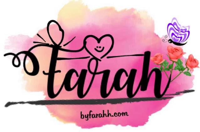 about byfarahh.com