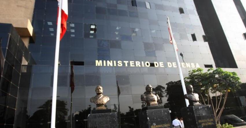 MINDEF: Ministerio de Defensa rechaza mención de presidente del Congreso a Fuerzas Armadas