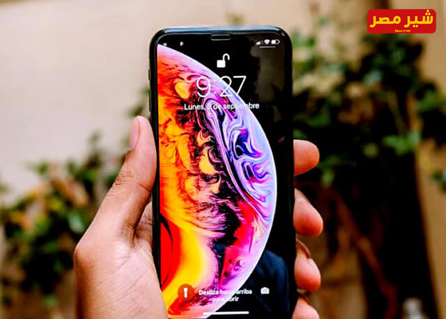 Wallpaper of the new iPhone XS phone