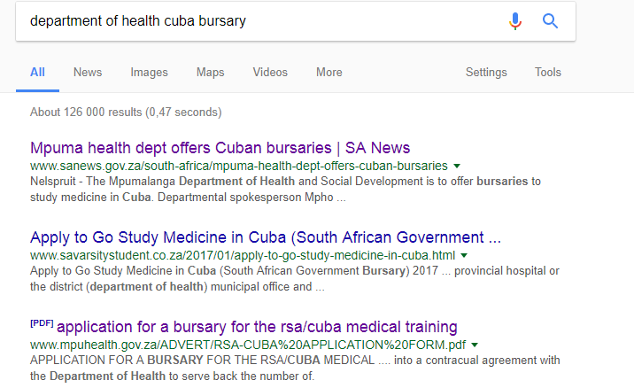 want to go study medicine in cuba apply before may 31 each year