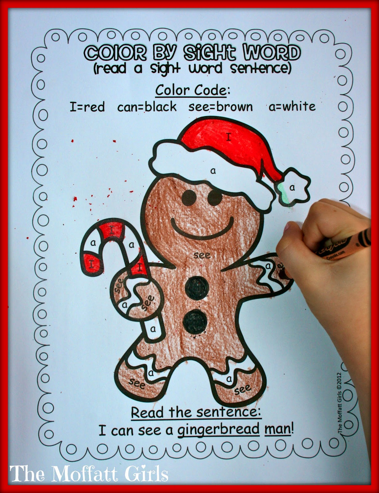 Christmas Learning Day 2 Free Gingerbread Pack