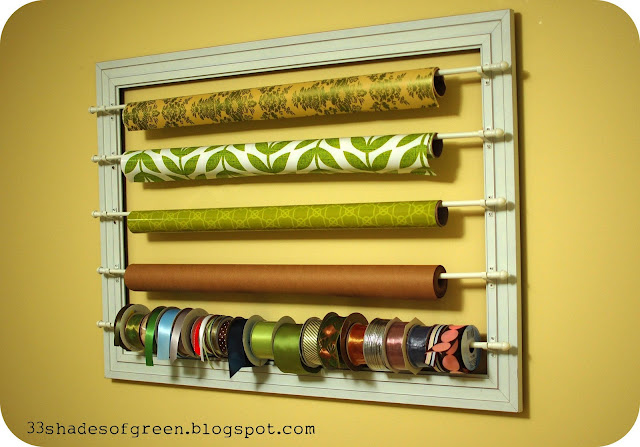25 Gift Wrap Organization Ideas The Scrap Shoppe