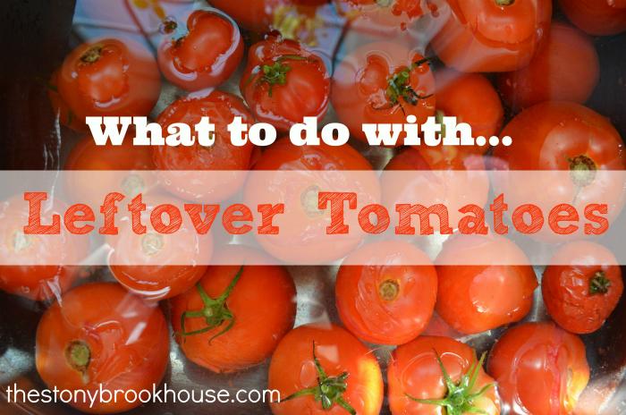 Freezing Leftover Tomatoes