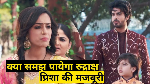 Future Story : Prisha stays silent bears Rudraksh's intense hate blames in Yeh Hai Chahatein