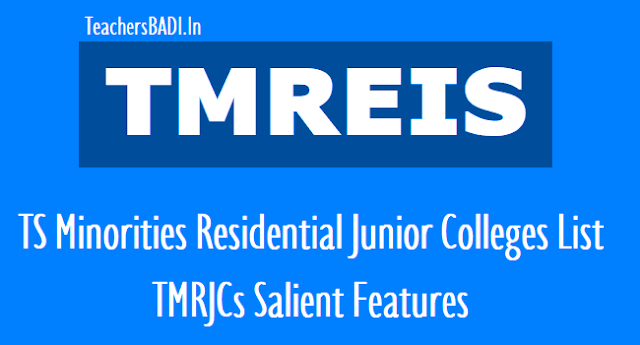 tmreis junior colleges list,telangana minorities residential junior colleges list,tmr colleges list,district wise list of tmr colleges,telangana minorities residential educational institutions society (tmreis) locations of residential colleges