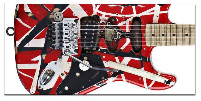 Características de la Guitarra de Eddie Van Halen Frankenstrat
