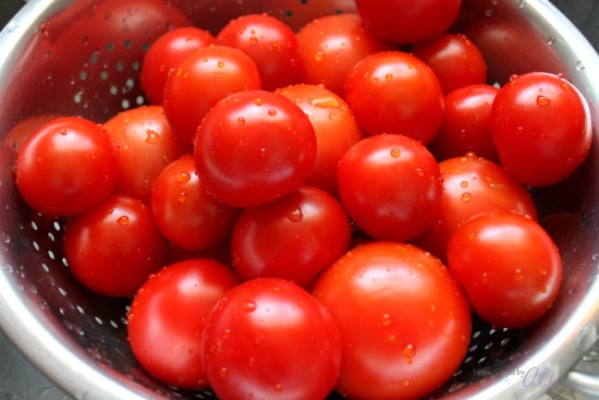 Easy to make homemade stewed tomatoes