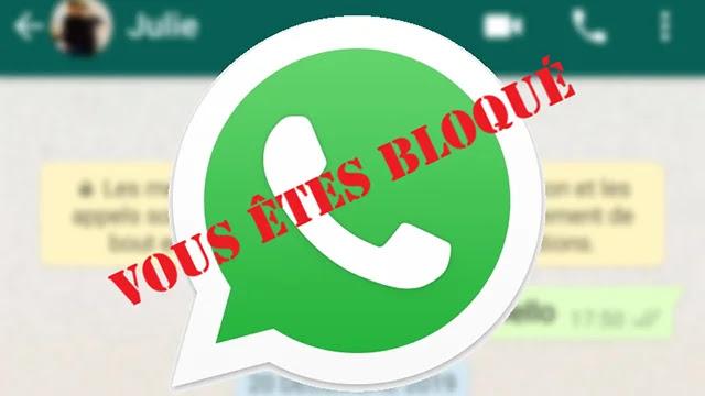 Comment savoir si quelqu'un vous a bloqué sur WhatsApp?