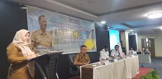 Plt Sekretaris PUPR Provinsi Jambi Secara Resmi Membuka Bimtek SMKK