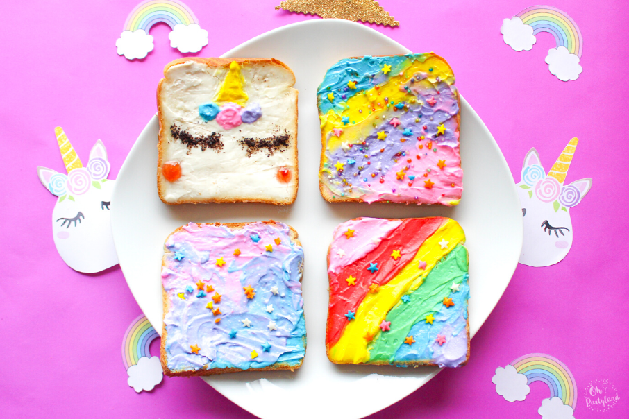 how-to-make-unicorn-toast