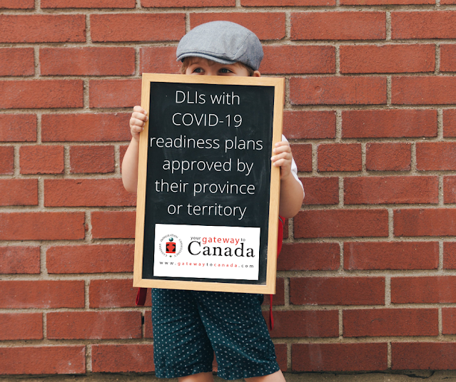 DLIs with COVID-19 readiness plans approved by their province or territory