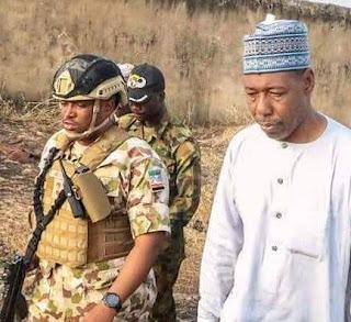 Again, terrorists attack Borno Governor's convoy