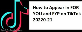 How to Appear in FOR YOU and FYP on TikTok 2020-21