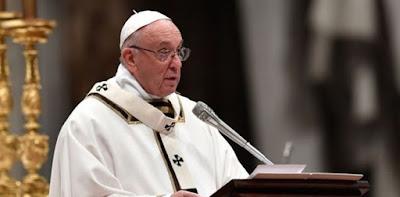 Paus Fransiskus Sindir Pemimpin yang Sibuk Mikirin Ekonomi