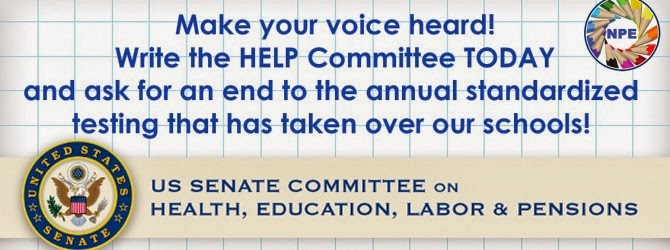 Join NPE's letter writing campaign to Sen. Alexander and the HELP Committee