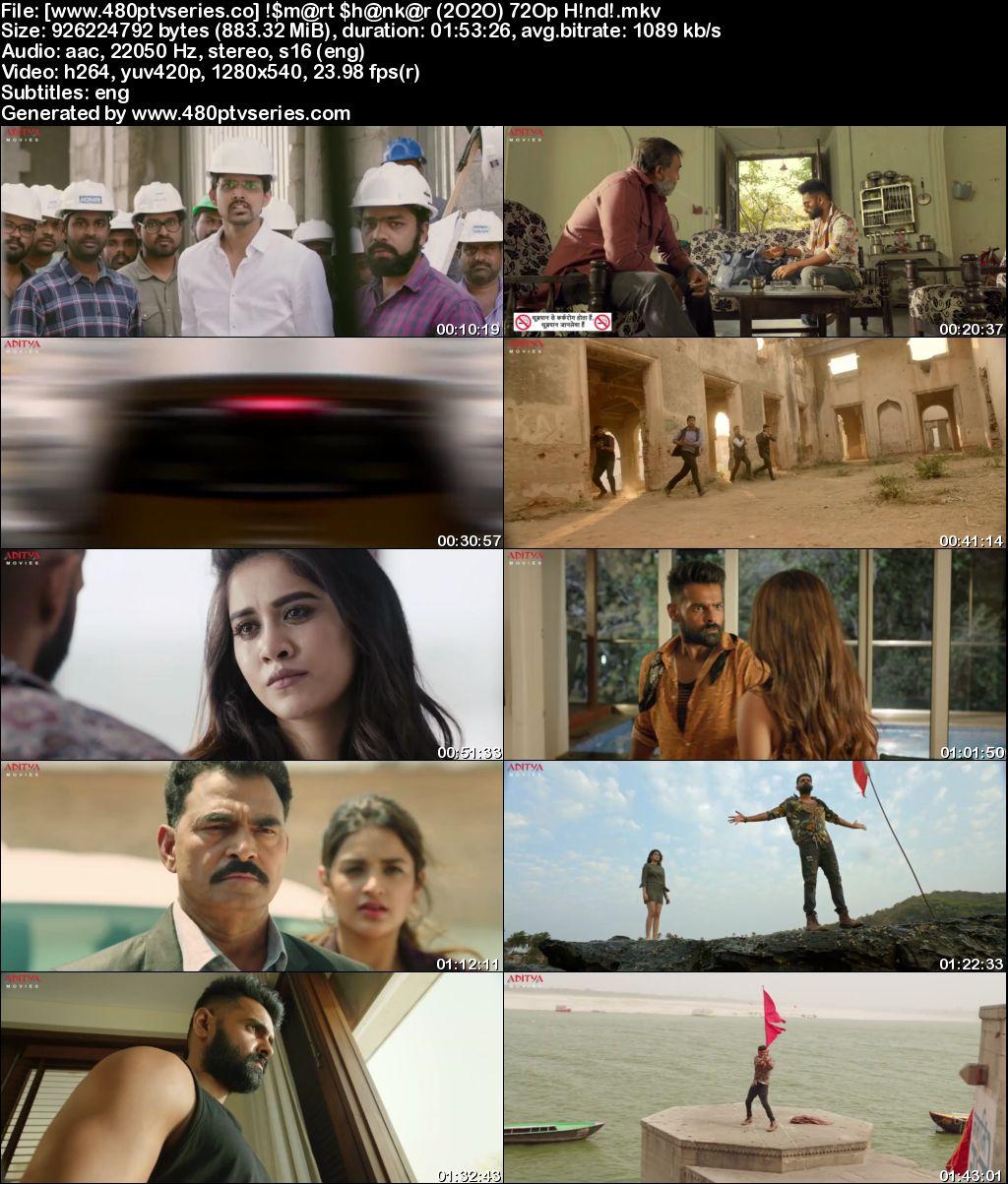 iSmart Shankar (2020) Full Hindi Dubbed Movie Download 480p 720p HDRip Free Watch Online Full Movie Download Worldfree4u 9xmovies