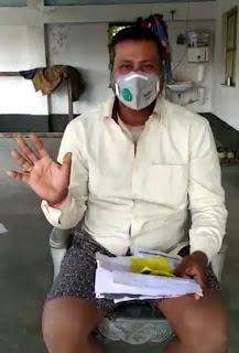 समस्तीपुर में कतार से आये युवक ने लाइलाज बीमारी कोरोना को लेकर अस्पतालों की व्यवस्था पर उठाया सवाल।