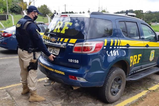 Quarteto acusado de invadir e furtar residência em Petrolina é preso na BR-116 em Jaguaquara
