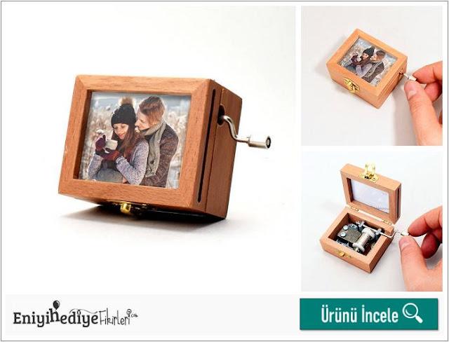 Kişiye Özel Fotoğraflı Müzik Kutusu