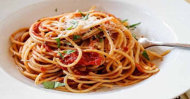 Spaghetti With Fresh Tomato Basil Sauce Recipe