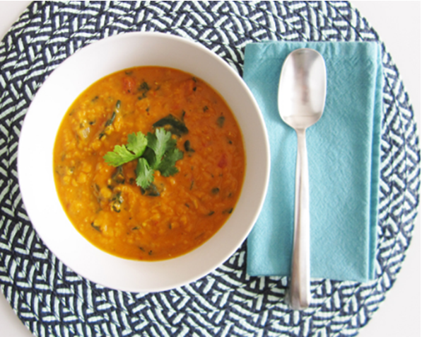Creamy Curry Lentil Soup  recipe