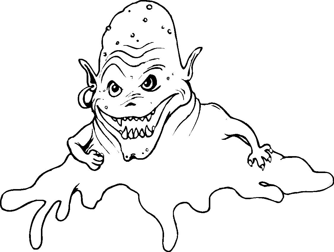 Monsters Coloring Page | Malvorlagen halloween, Kinder malbuch ... | 849x1126